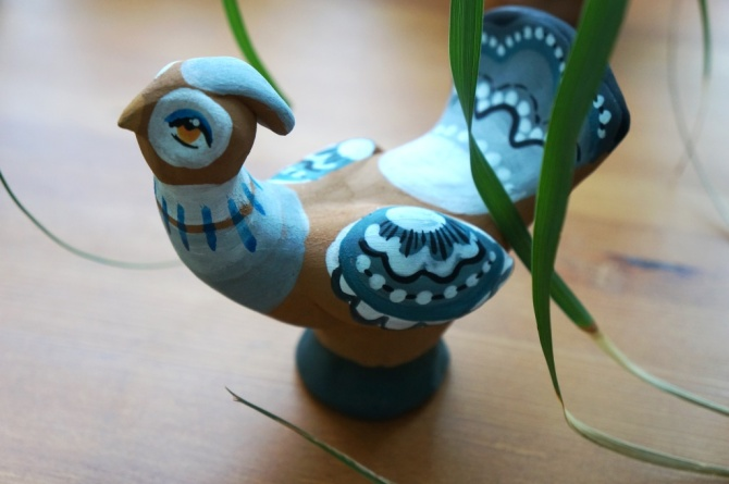 Как сделать птиц из глины 83