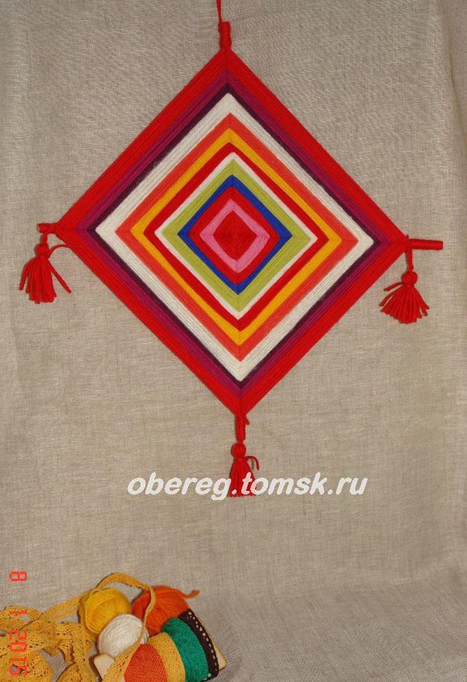 Как сделать самому славянский оберег
